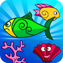 Feed My Fish (game for kids) icon