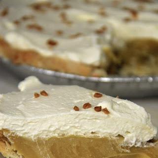 Caramel Cream Pie.