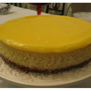 Lemon and Goat Cheese Cheesecake