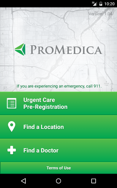 ProMedica- screenshot