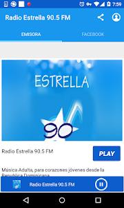Radio Estrella 90.5 FM screenshot 0