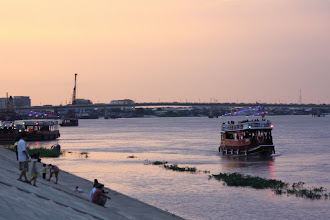 Photo: Year 2 Day 35 - A View of Tonle Sap River in Phnom Penh