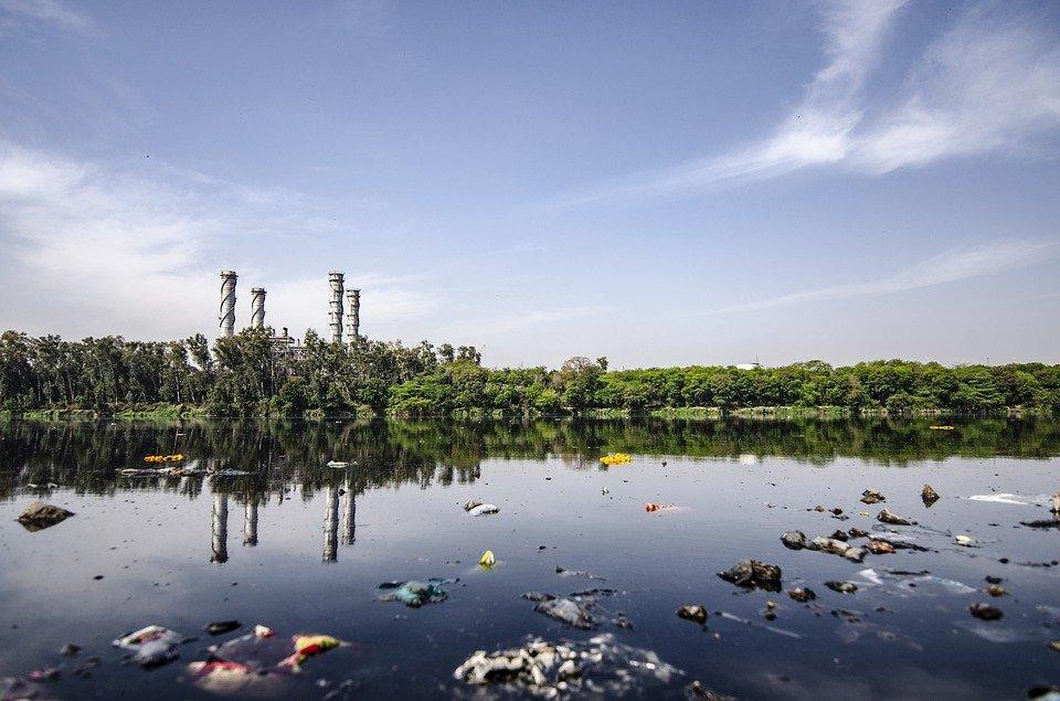 Contaminação, Poluição Da Água, Lago, Ambiente