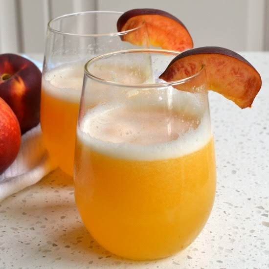 This Mouthwatering Good Peach Bellini Recipe Has Four Ingredients And Only Takes A Few Minutes Of Hands On Time.  Use Fresh Or Frozen Peeled Peaches.