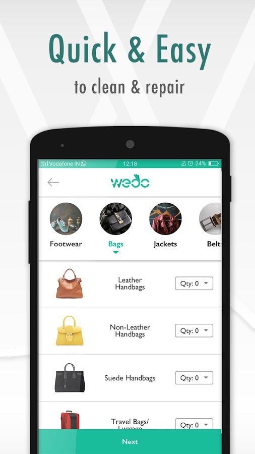 WeDoShoes - Repair & Laundry- screenshot