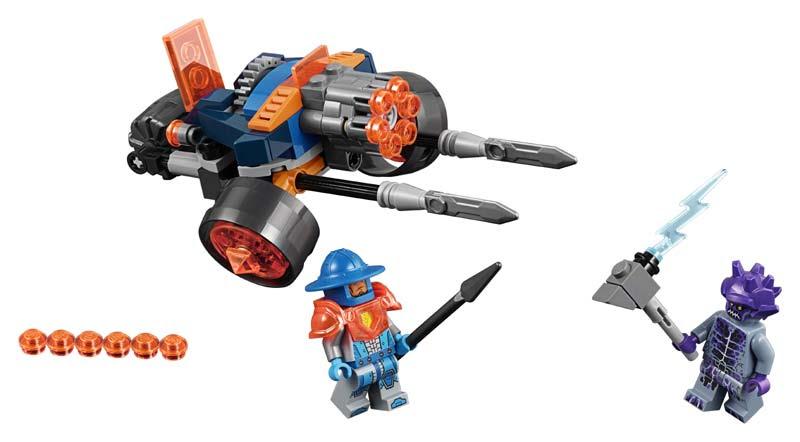 Contenido de Lego® 70347 Vehículo Artillero de la Guardia del Rey