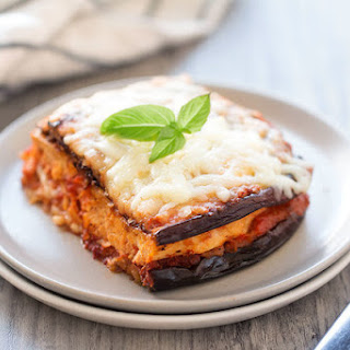 Naked Chicken & Eggplant Parm.