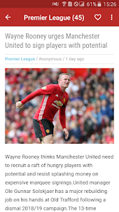Manchester United News - Man United Daily News for PC-Windows 7,8,10 and Mac apk screenshot 3