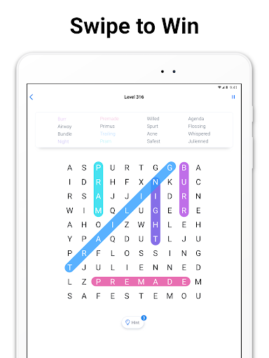 Word Search - Free Crossword and Puzzle Game apkpoly screenshots 8