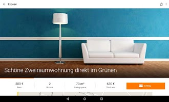 Screenshot of Immobilien Scout24