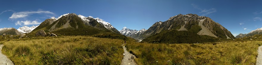 Photo: New Zealand, Southland, Mt Cook National Park, Hooker Valley Track