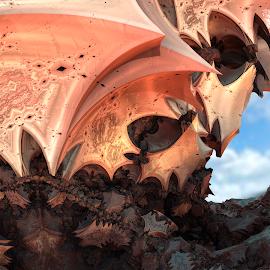54156 bis by Armand Galard - Illustration Abstract & Patterns ( fractal, fractals )