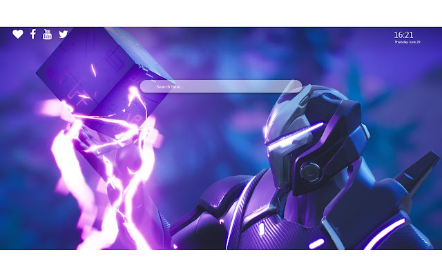 Omega Fortnite Skin Wallpapers 4k