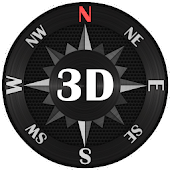 Unduh Kompas Baja 3D Gratis