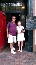 Photo: Murphy's Irish Restaurant, Alexandria VA. My new best friend, Mim. They had Fish and Chips!!!!!!!