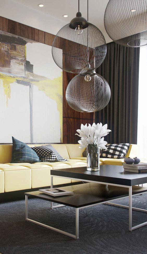LeAnne Bunnell Calgary interior design fall trends wow factor lighting pendants