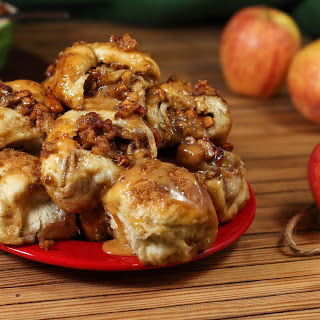 Crazy Caramel Apple Pie Bombs.