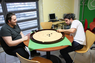 Photo: Crokinole