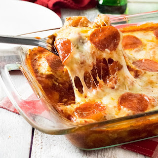 Easy Pizza Baked Gnocchi.