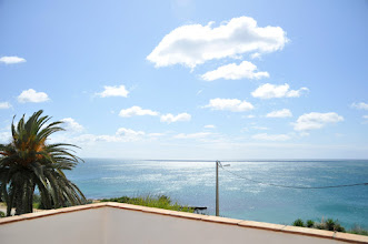 Photo: view from tv room balcony