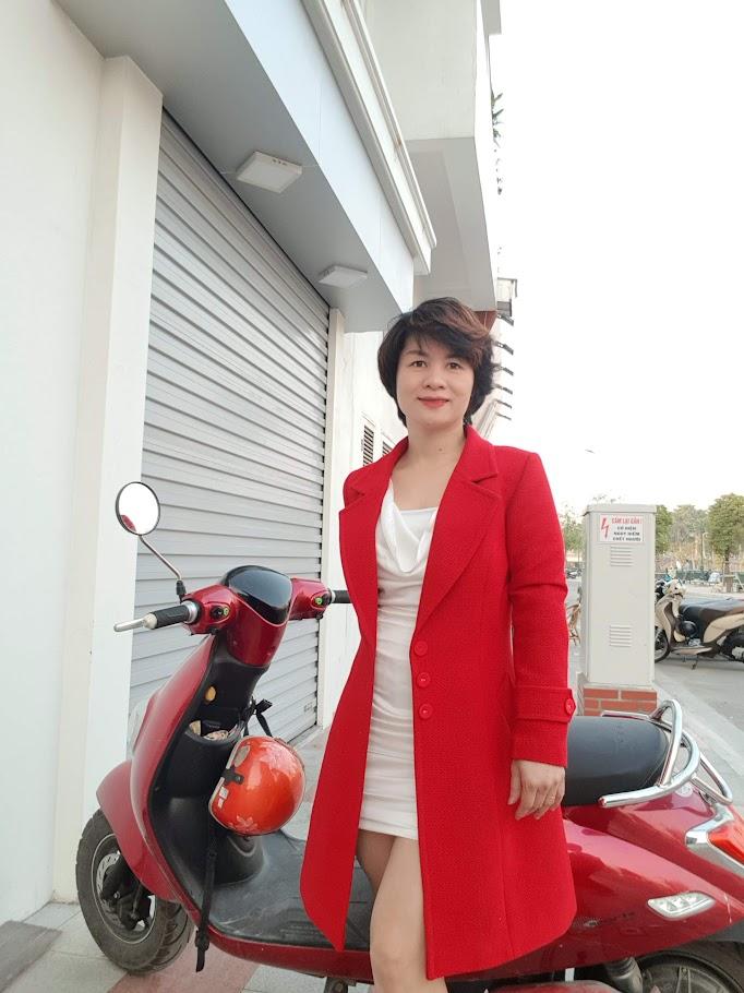 Áo khoác nữ dáng dài thời trang thuỷ hà nội