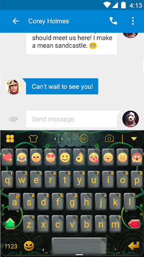 玩免費遊戲APP|下載Temple Keyboard -Emoticons&Gif app不用錢|硬是要APP
