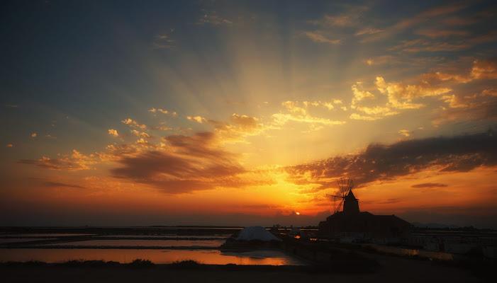 tramonto arancione di rik
