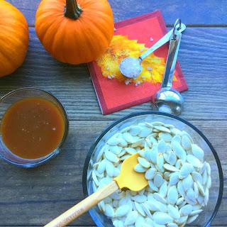 Salted Caramel Pumpkin Seeds.