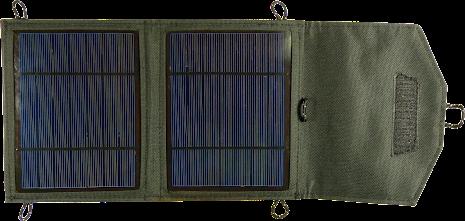 Tiger, 5W solcellsladdare för mobila enheter