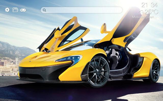 McLaren  HD new free tab theme