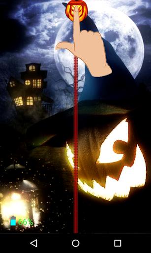 Halloween Zipper Screen Lock