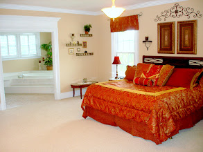Photo: Bedroom #5: Huge Master Suite 22' x 18'with a natural gas or wood burning fireplace