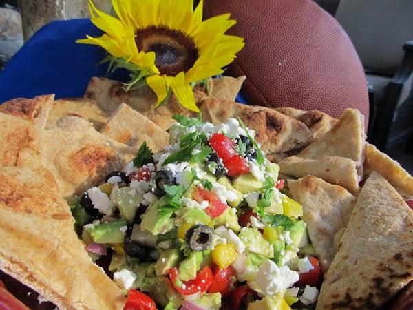 Game Day Greek Avocado Salsa Recipe