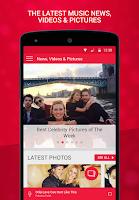 Screenshot of Heart Radio App