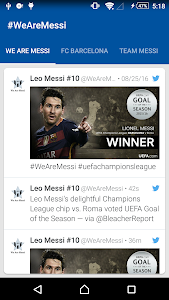 News, Photos & Stats for Messi screenshot 0