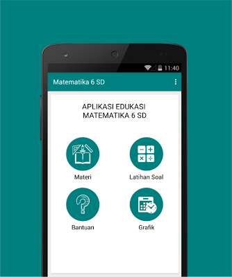 Matematika 6 SD - screenshot
