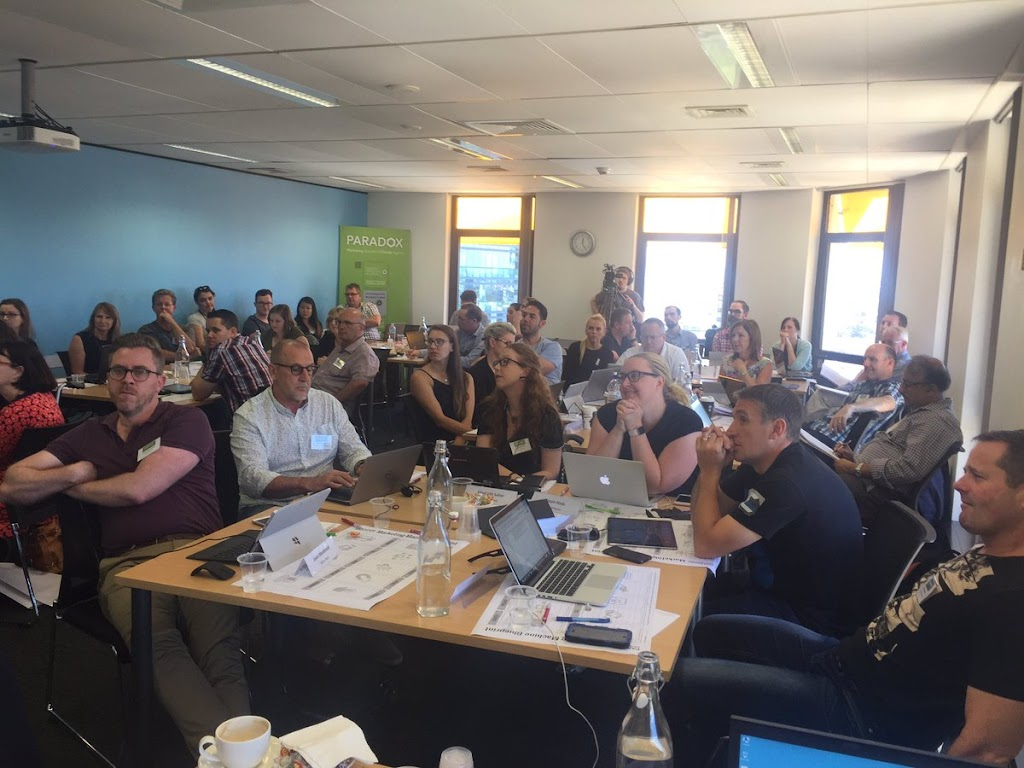 PARADOX Marketing Masterclass attendees