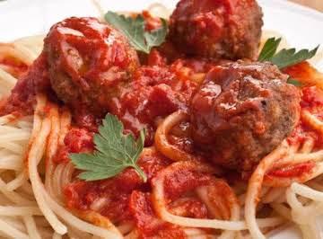 Italian Meatballs (Hamburgers, too!)