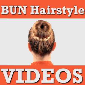 BUN Hairstyles Step VIDEOs Android Apps On Google Play - Hairstyle bun videos