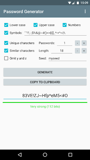 Password Generator 1.3.2 screenshots 3