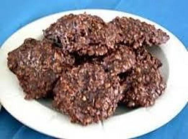 Oatmeal Fudge Cookies Recipe