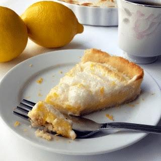 Keto Lemon Meringue Pie.