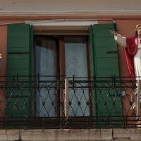 Sul balcone...... di