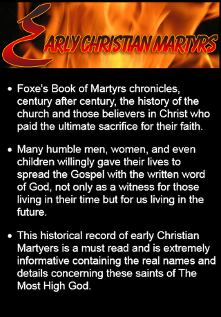 Foxe's Book of Martyrs- screenshot