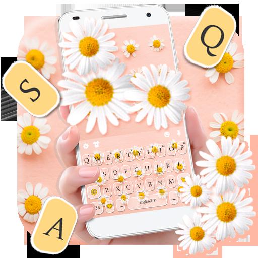 Lovely Daisy Keyboard Theme Icon