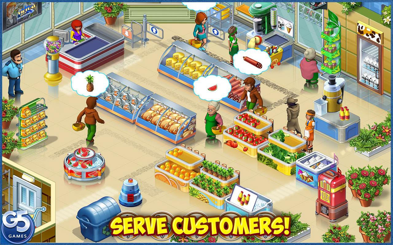 Screenshots of Supermarket Mania® Journey for iPhone