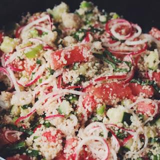 Water Melon Couscous Salad Recipe