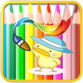 Download Kids Coloring book Cute APK on PC