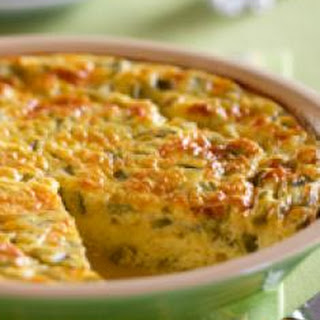 Green Chile Crustless Quiche