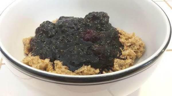 Irish Porridge With Berry Compote